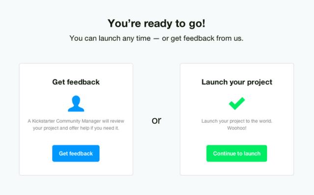 Kickstarter Launch Now