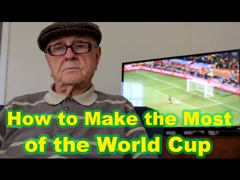 Mr. Forthright Advises His Audience How To Make the Most of the World Cup