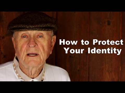 Mr. Forthright Gives A Smashing Demonstration In How To Best Protect One's Identity