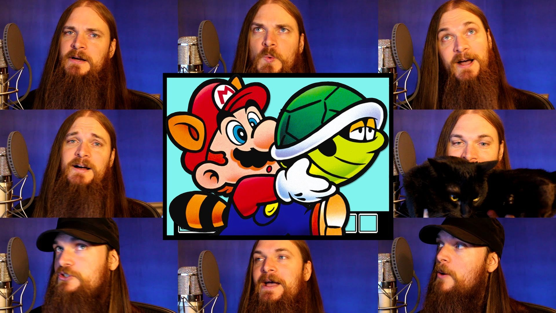 A Multitrack A Capella Cover of the 'Overworld 1' Song From Nintendo's 'Super Mario Bros. 3'