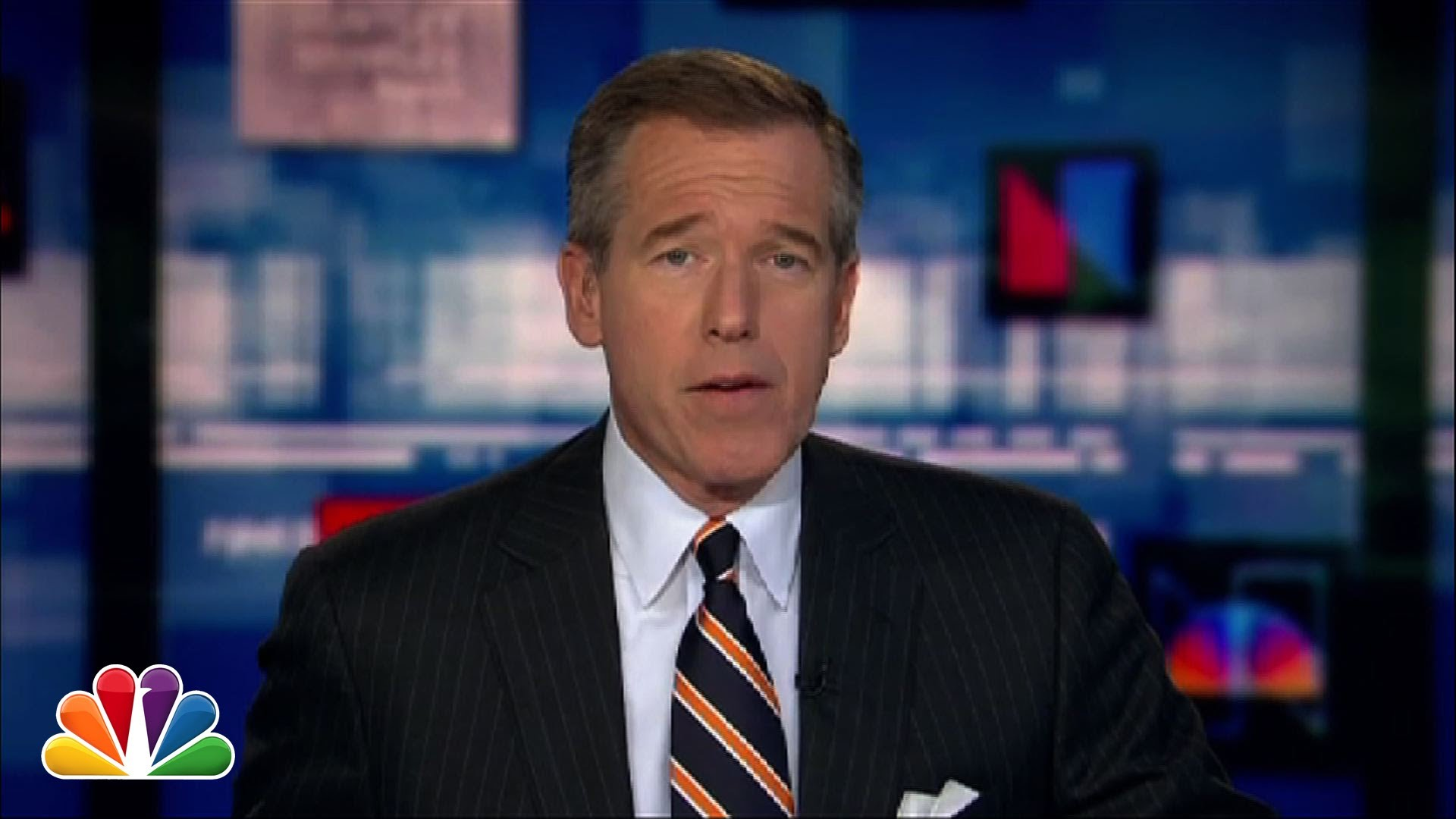 NBC News Anchor Brian Williams Sings the 1992 Song 'Baby ...