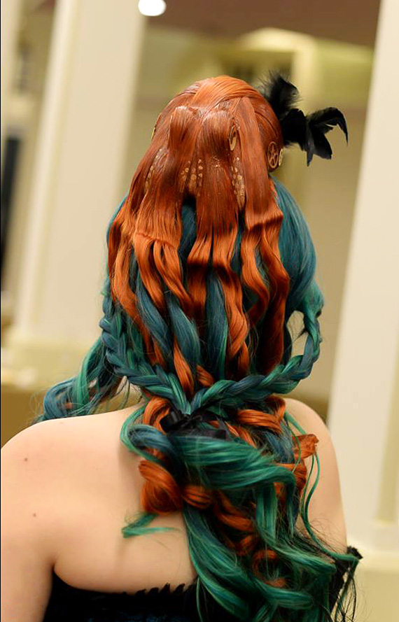 Octopus Hairpiece by Kirstie Williams