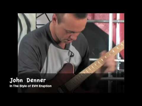 One-Handed Guitarist Plays Brilliant Cover Version of 'Eruption' by Van Halen