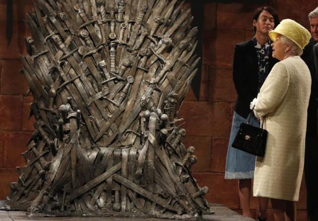 Queen Elizabeth II Game of Thrones