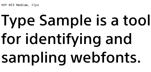 Type Sample
