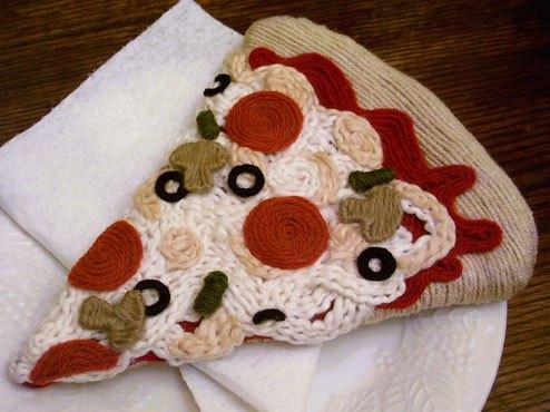 Yarn Food Sculptures