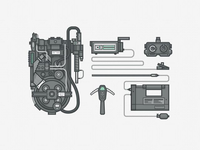 Ghostbuster Gear