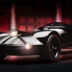Hot Wheels and 'Star Wars' Make a Full-Size Darth Vader Car to Promote Upcoming Series of Character Cars