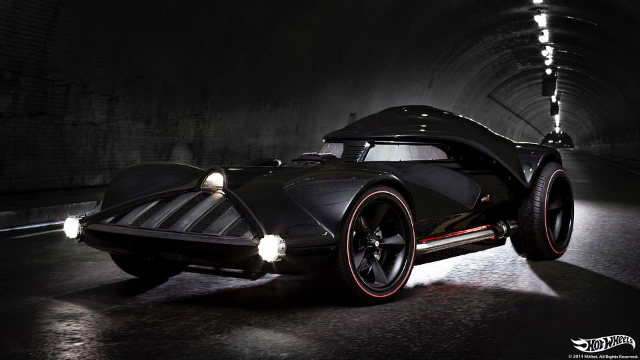 Hot Wheels Life-Size Darth Vader Car
