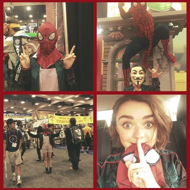 Maisie Williams at Comic-Con