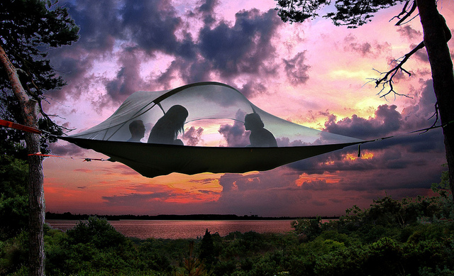 Tentsile Tree Tents Tents That Tie to Trees for a Suspended C&ing Experience in Spots Without Flat Ground & Tentsile Tree Tents Tents That Tie to Trees for a Suspended ...