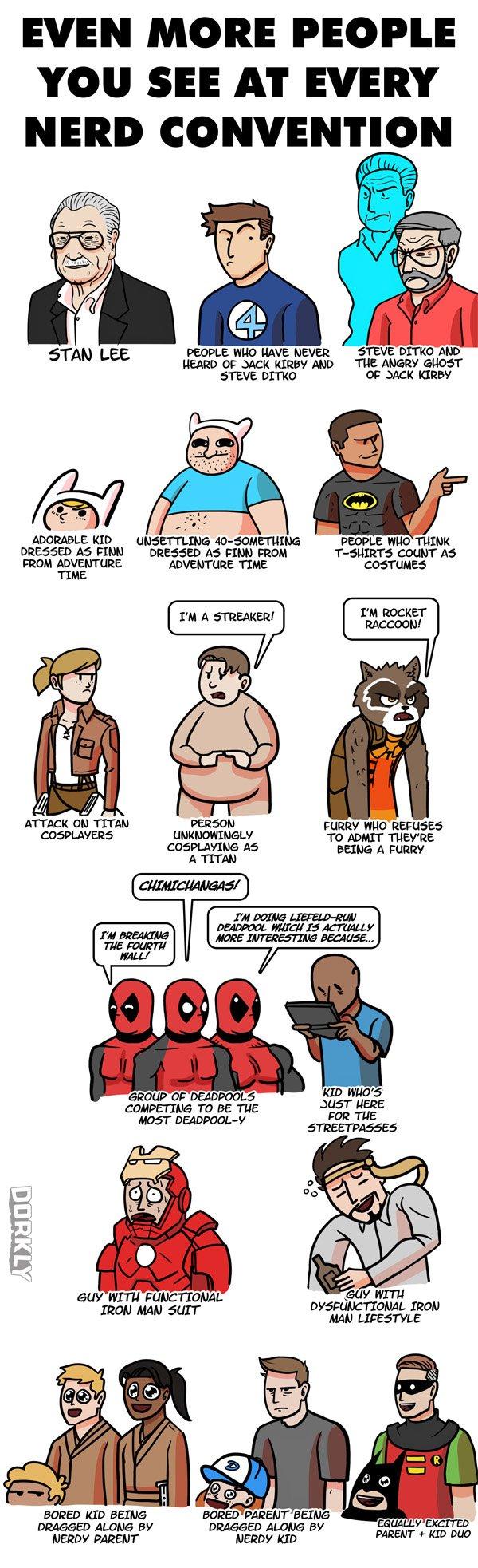 Nerd Convention Dorkly Comic
