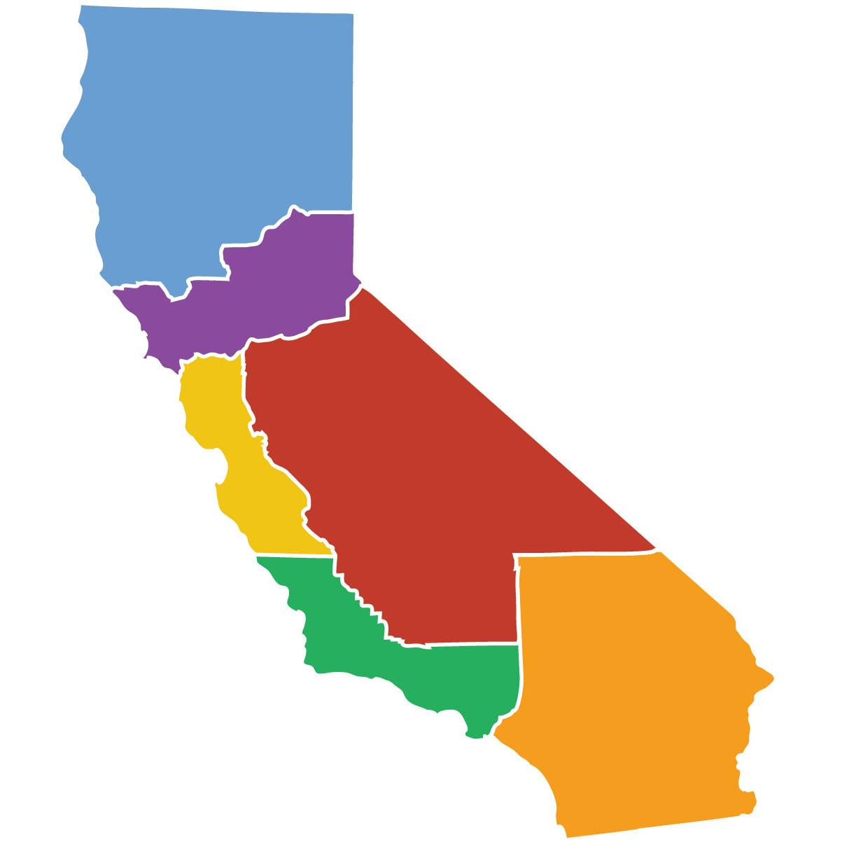 Six Californias, An Initiative to Divide California Into Six New States