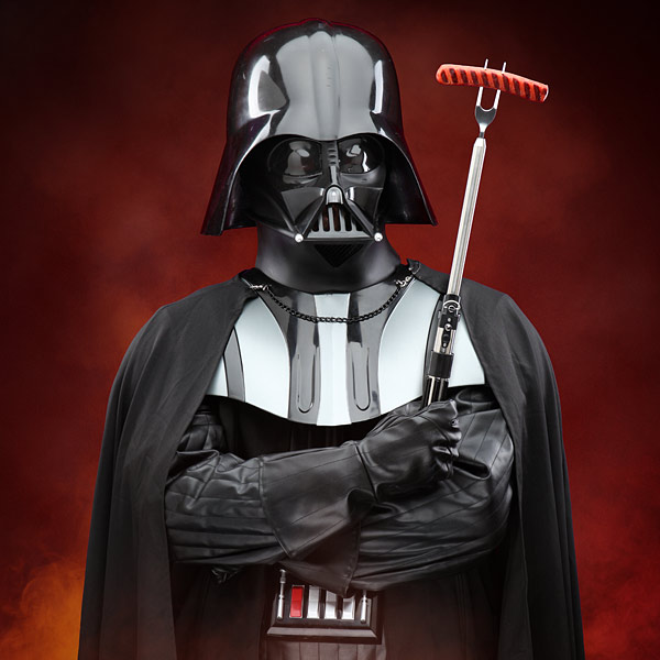 Star Wars Darth Vader Lightsaber BBQ Fork