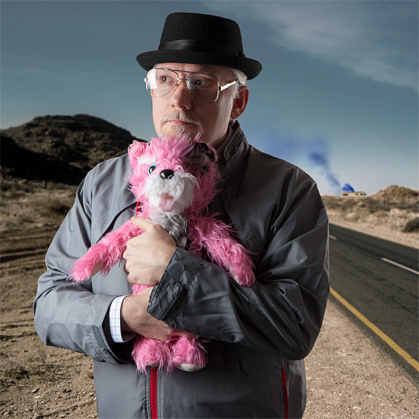 Breaking Bad 18in Teddy Bear