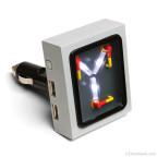Flux Capacitor USB Car Charger That Looks Like Doc Brown's Time Travel Device From the 'Back to the Future' Films