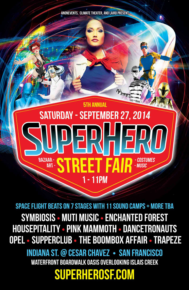 5th Annual Superhero Street Fair
