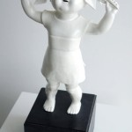 Wonderfully Twisted Porcelain Figurines by Maria Rubinke