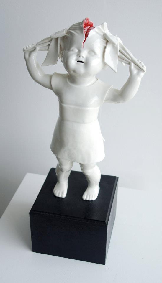 Wonderfully Twisted Porcelain Figurines by Maria Rubinke