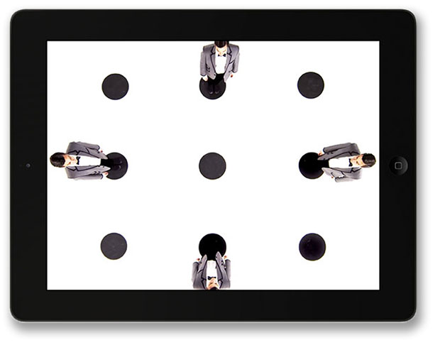 Dot Dot Dot Interactive Dance App for iPad