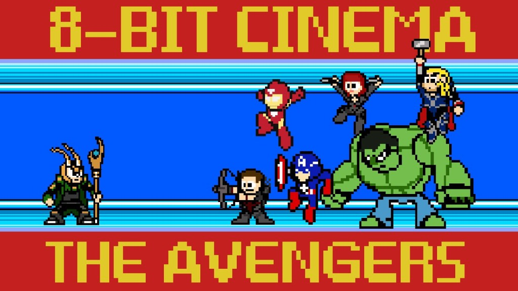 8-Bit Cinema – The Avengers Retold as an 8-Bit Animated Video Game