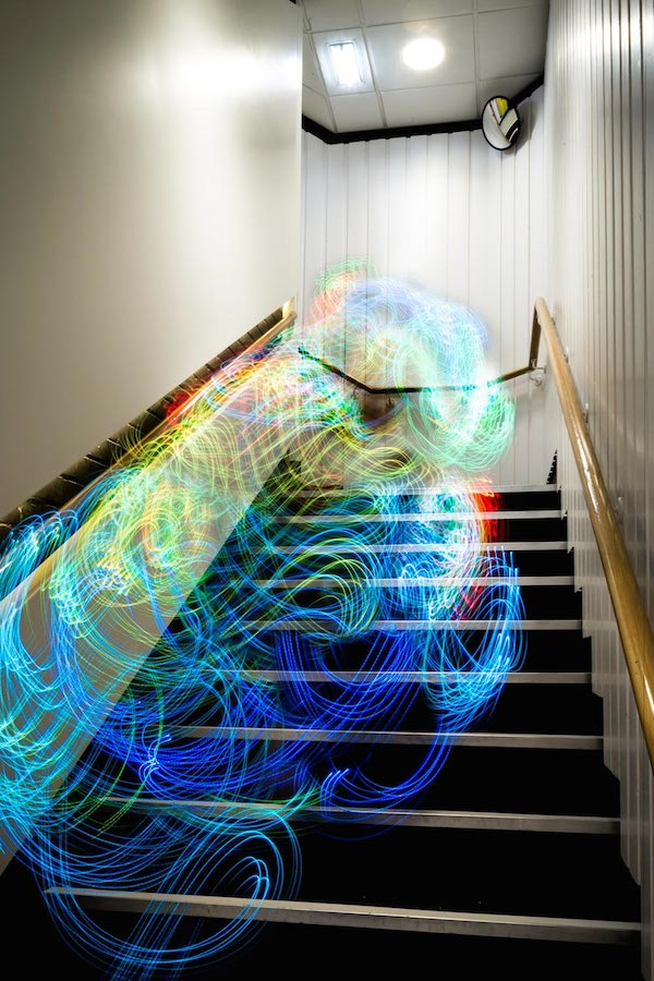 Fascinating Long-Exposure Photos That Visualize Wi-Fi Signals