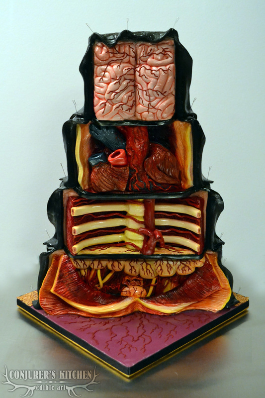The Dissected Cake by Annabel de Vetten
