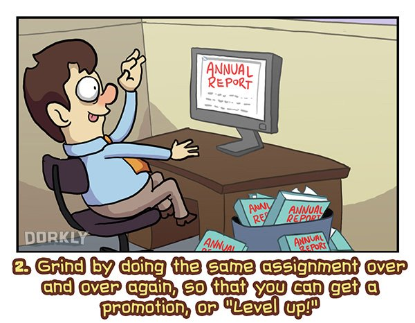 Fun Ways To Make Your Desk Job More Like An RPG