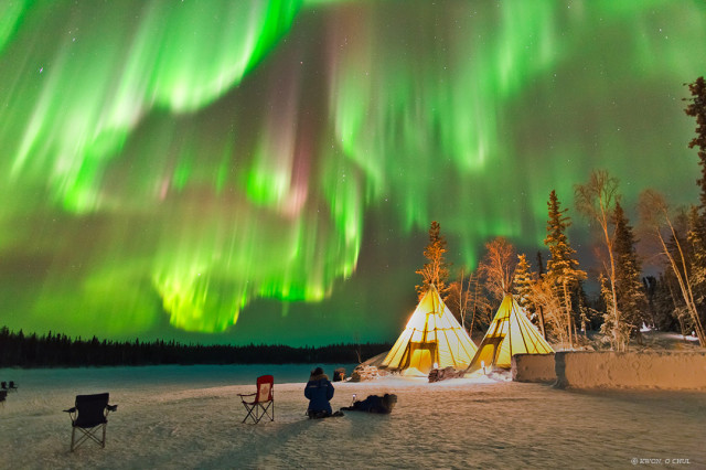 Auroras Near Yellowknife