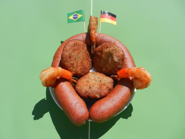 Brazil vs Germany - Acarajewurst