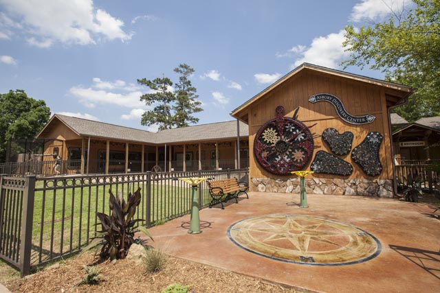 Because We Can's Fantastic Steampunk-Style Children's Discovery Center at the Hattiesburg Zoo in Mississippi