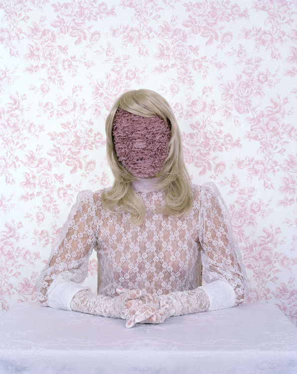 'Lady Things', Wonderfully Odd Portraits of Women Obscured by Feminine Objects