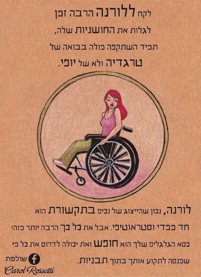 Laura in Hebrew
