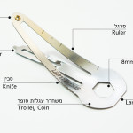 Leatherdos, A Multi-Function Multi-Tool Metal Hair Clip