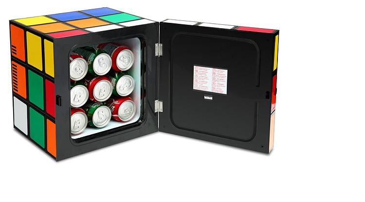 Open Rubiks Cube Fridge
