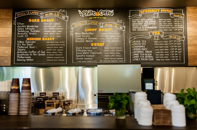 Philz Menu