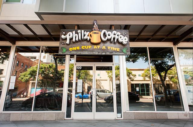 Philz Storefront Santa Monica