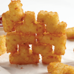 Puzzle Potatoes, Tots Shaped Like Tetris Tetrominoes