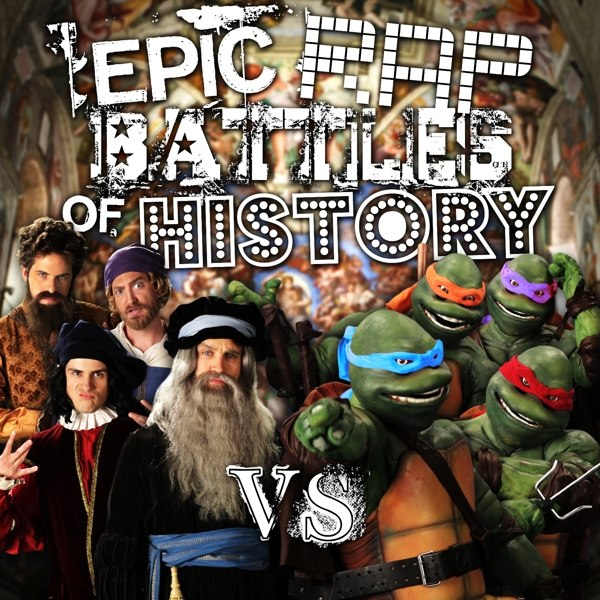 Artists vs Turtles. Epic Rap Battles of History Season 3 Finale