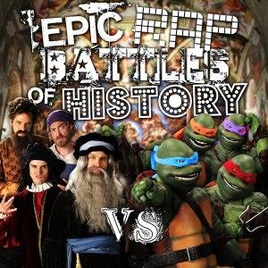 Artists vs Turtles. Epic Rap Battles of History Season 3 Finale