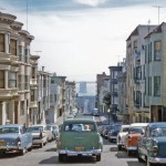 Photograph of San Francisco Street in 1957 Shot At Virtually the Same Moment as a Scene From Hitchcock's 'Vertigo'