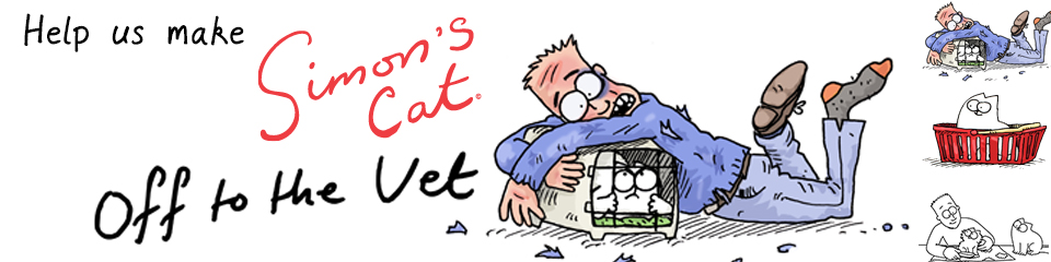 Simon of Simon's Cat Raising Funds for His New 11-Minute Color Animation 'Off to the Vet'