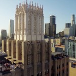 A Drone's Eye View of the Buildings and Artwork of Downtown Los Angeles