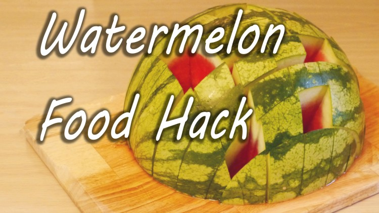 A Simple Way to Prepare and Serve a Watermelon at Parties or for Sharing With Friends