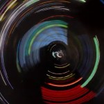 A Video of Mesmerizing Circular Patterns Created by Taping a GoPro Camera to a Car Wheel