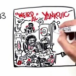 All 14 'Weird Al' Yankovic Album Covers as a Whiteboard Animation