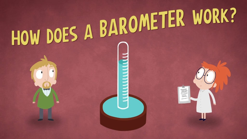 An Animated Explanation of How Barometers Work