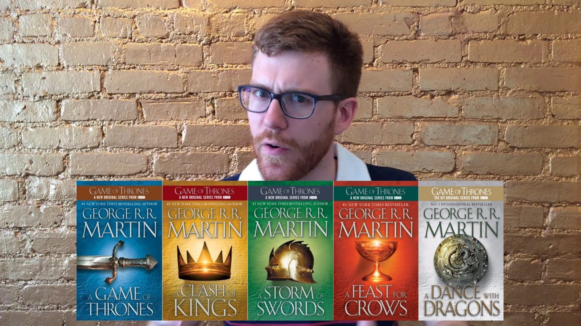 An Attempt to Explain the Entire 'A Song of Ice and Fire' Book Series in Two Minutes That Goes Horribly Awry