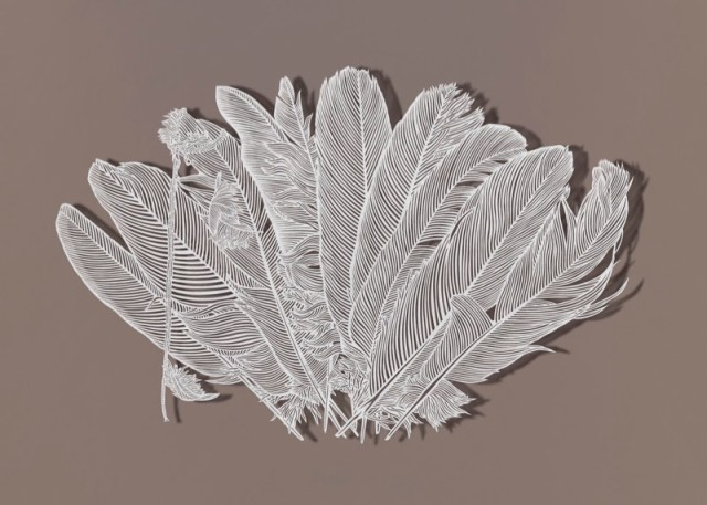 Astonishingly Intricate Cut Paper Art by Bovey Lee