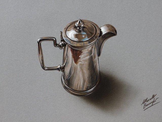 Hyperrealistic Illustrations of Everyday Objects by Marcello Barenghi